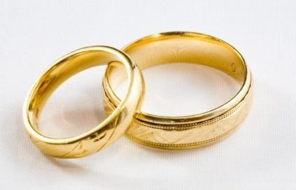 cincin tunangan emas