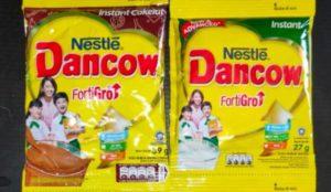 dancow sachet